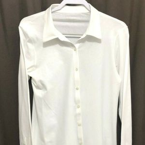 Eileen Fisher Button Front Blouse. Size L,    PE19